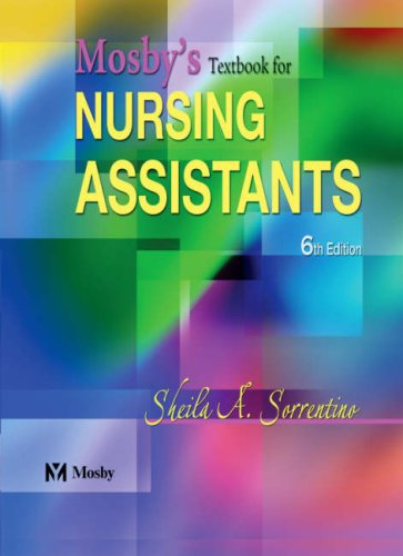 9780323025805: Mosby's Textbook for Nursing Assistants