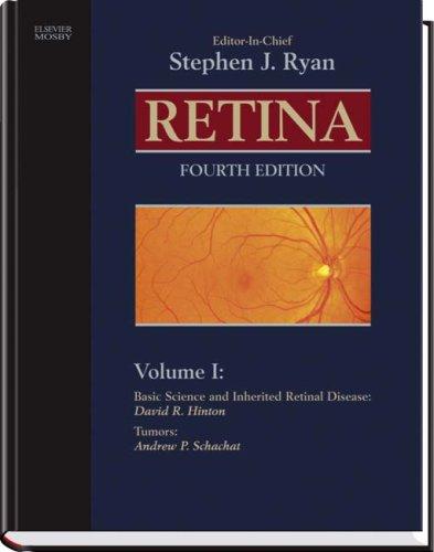 9780323025980: Retina (3 Volume Set) (Ryan, Retina)