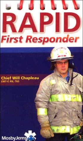 9780323027212: Rapid First Responder Pocket Guide, 1e