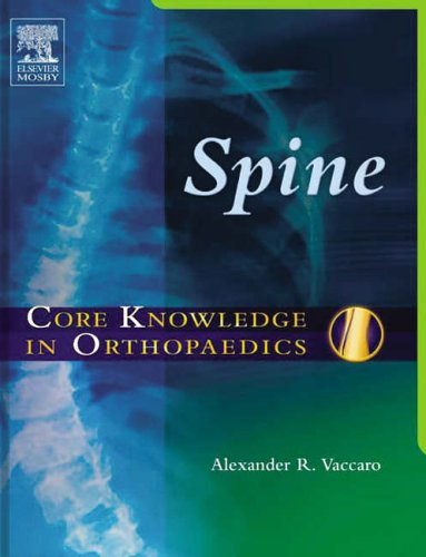 9780323027311: Core Knowledge in Orthopaedics: Spine