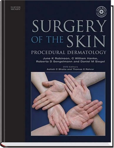 9780323027526: Surgery of the Skin: Textbook with DVD
