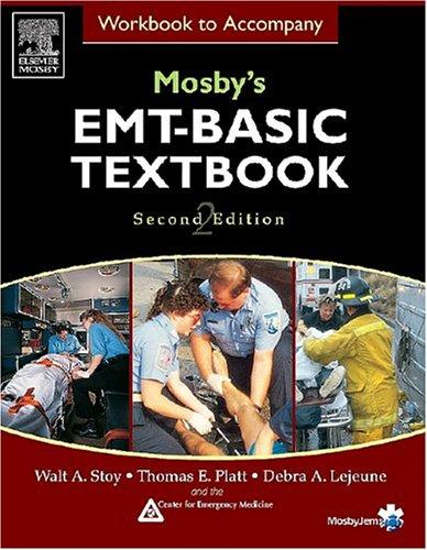 9780323028165: Workbook to Accompany Mosby's EMT Basic Textbook