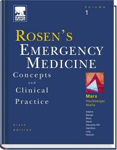 9780323028455: Rosen's Emergency Medicine: Concepts and Clinical Practice, 3-Volume Set