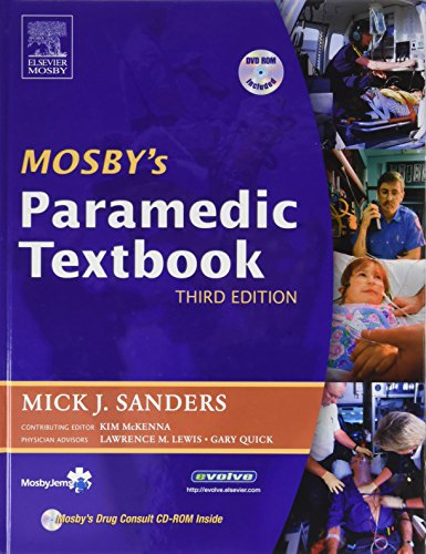 9780323028622: Mosby's Paramedic Textbook and RAPID Paramedic Package