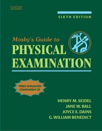 9780323028882: Mosby's Guide to Physical Examination
