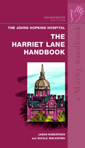 9780323029179: The Harriet Lane Handbook: Text with Downloadable PDA Software: A Manual for Pediatric House Officers (Mobile Medicine)