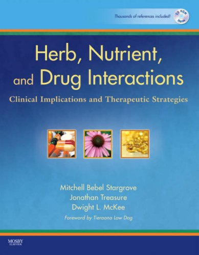 9780323029643: Herb, Nutrient, and Drug Interactions: Clinical Implications and Therapeutic Strategies, 1e