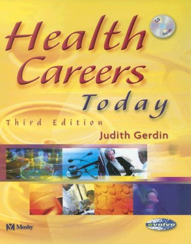 Health Careers Today, 3e: Gerdin BSN MS,