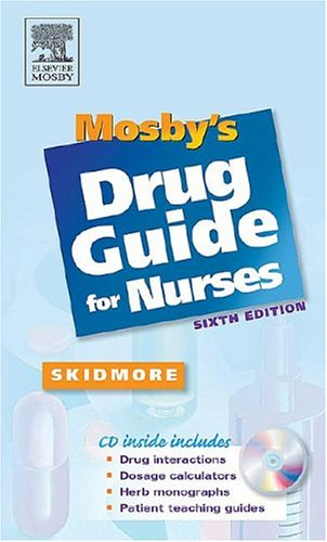 9780323030601: Mosby's Drug Guide for Nurses