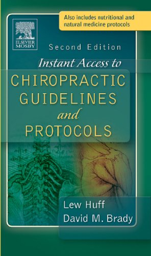9780323030687: Instant Access to Chiropractic Guidelines and Protocols, 2e