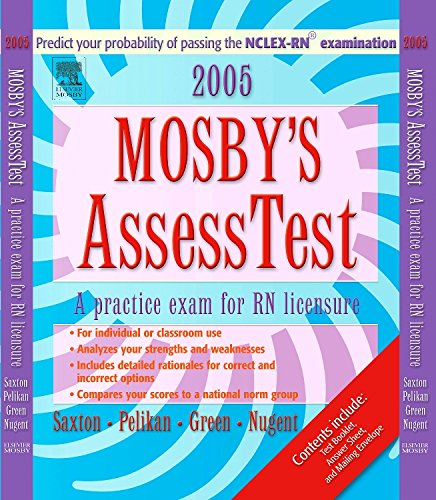 9780323031028: Mosby's 2005 Unsecured AssessTest