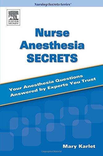 9780323031448: Nurse Anesthesia Secrets, 1e