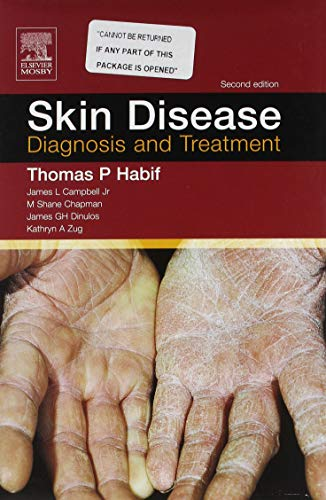 9780323031691: Skin Disease: Textbook & CD-ROM PDA Software: Diagnosis and Treatment