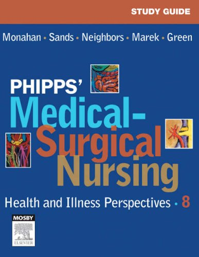 9780323031714: Study Guide for Phipps' Medical-Surgical Nursing: Health & Illness Perspectives, 8e