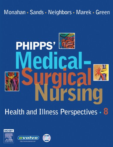 9780323031974: Phipps' Medical-Surgical Nursing: Health and Illness Perspectives, 8e (Medical Surgical Nursing: Concepts & Clinical Practice (Phipps))