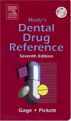 9780323032049: Mosby's Dental Drug Reference