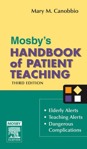 9780323032087: Mosby's Handbook of Patient Teaching, 3e