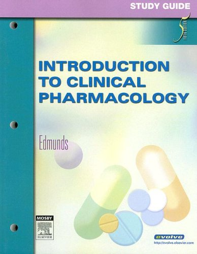 9780323032230: Study Guide for Introduction to Clinical Pharmacology