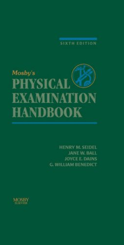 9780323032315: Mosby's Physical Examination Handbook