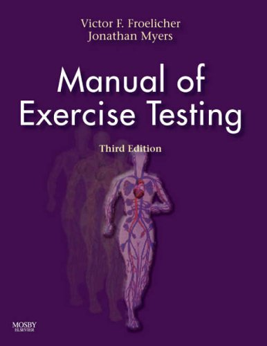 9780323033022: Manual of Excercise Testing