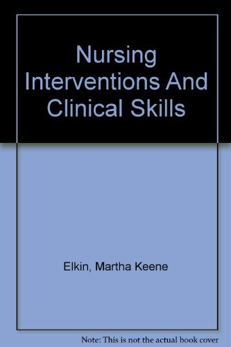 9780323033350: Nursing Interventions & Clinical Skills