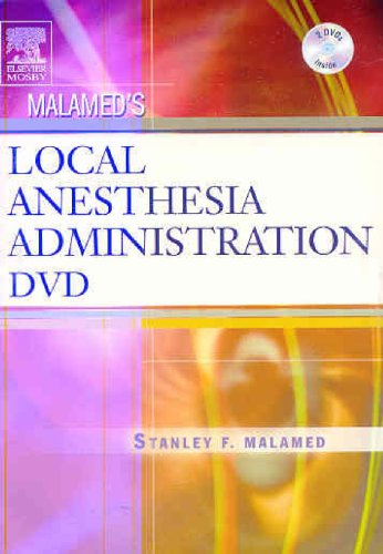 9780323033527: Malamed's Local Anesthesia Administration DVD, 1e