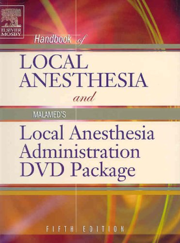 9780323033534: Handbook of Local Anesthesia: Text with Malamed's Local Anesthesia Administration DVD Package