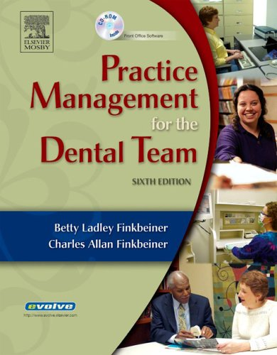 Practice Management for the Dental Team: Betty Ladley Finkbeiner