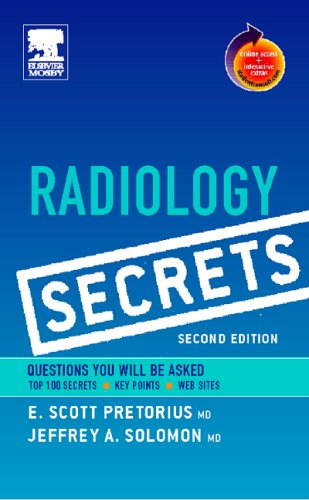 9780323034050: Radiology Secrets: With STUDENT CONSULT Online Access