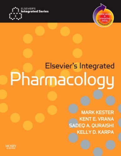 9780323034081: Elsevier's Integrated Pharmacology: With STUDENT CONSULT Online Access, 1e
