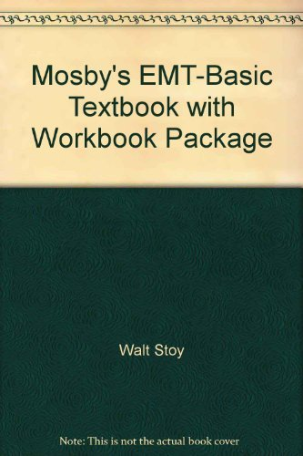 9780323034395: Mosby's EMT-Basic Textbook with Workbook Package
