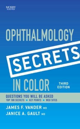 9780323034692: Ophthalmology Secrets in Color, 3e