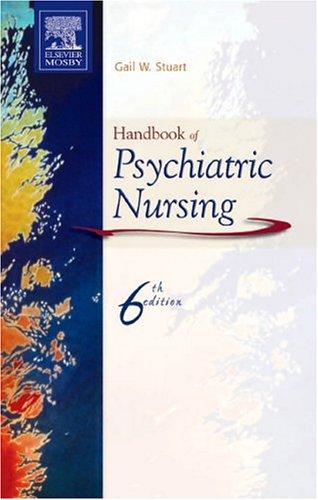9780323035026: Handbook of Psychiatric Nursing, 6e (Nursing Pocket Guides)