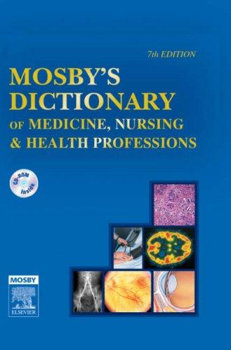 9780323035620: Mosby's Dictionary of Medicine, Nursing & Health Professions