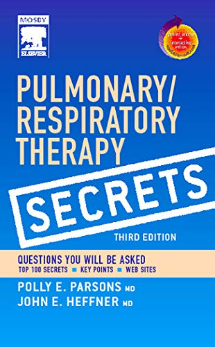 9780323035866: Pulmonary/Respiratory Therapy Secrets with STUDENT CONSULT Access