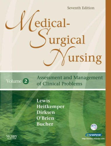 Medical-Surgical Nursing 2-Volume Set: Assessment and Management: Sharon L. Lewis,