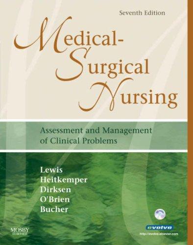 Medical-Surgical Nursing (Single Volume): Assessment and Management: Sharon L. Lewis,