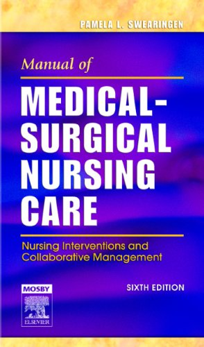 Manual of Medical Surgical Nursing 6th Edition