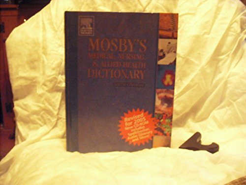 9780323037365: Mosby's Medical, Nursing, & Allied Health Dictionary - Revised Reprint