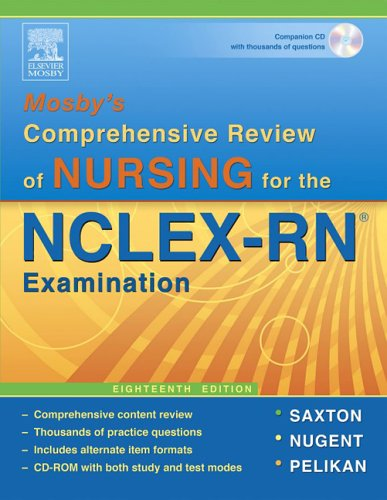 Mosby's Comprehensive Review of Nursing for NCLEX-RN: Martin-Zurro; Phyllis K.