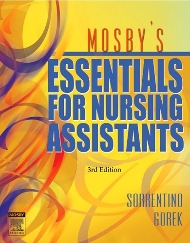 9780323039048: Mosby's Essentials for Nursing Assistants, 3rd Edition
