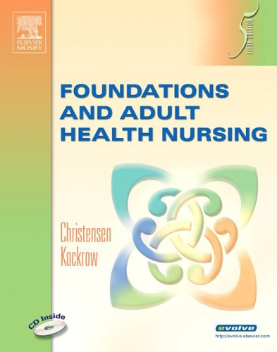 9780323039352: Foundations and Adult Health Nursing, 5e