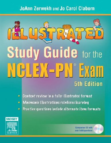 9780323039574: Illustrated Study Guide for the NCLEX-PN® Exam, 5e (Mosby's Illustrated Study Guide for NCLEX-PN Exam)