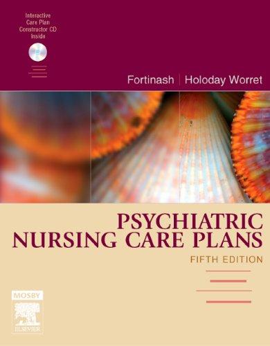 9780323039819: Psychiatric Nursing Care Plans, 5e (Fortinash, Psychiatric Nursing Care Plans)