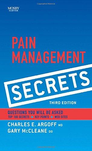 9780323040198: Pain Management Secrets, 3e