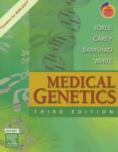 Medical Genetics Updated Edition for 2006 -: Lynn B. Jorde,