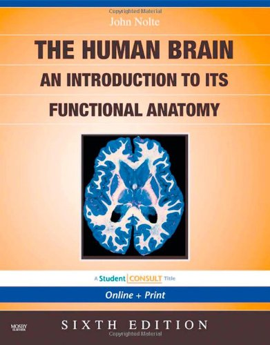 9780323041317: Nolte's The Human Brain: An Introduction to its Functional Anatomy With STUDENT CONSULT Online Access, 6e