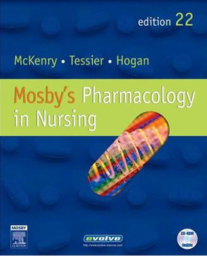 9780323042345: Mosby's Pharmacology in Nursing - Text and Study Guide Package, 22e