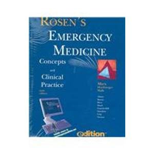 9780323043021: Rosen's Emergency Medicine e-dition: Text with Continually Updated Online Reference, 3-Volume Set: Concepts and Clinical Practice