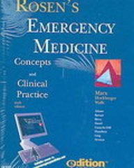 9780323043021: Rosen's Emergency Medicine e-dition: Text with Continually Updated Online Reference, 3-Volume Set
